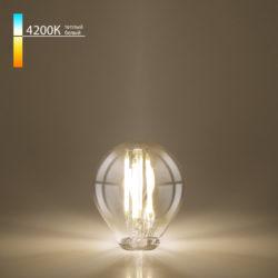 Филаментная светодиодная лампа Mini Classic 6W 4200K E27 (G45 тонированный) BLE2752