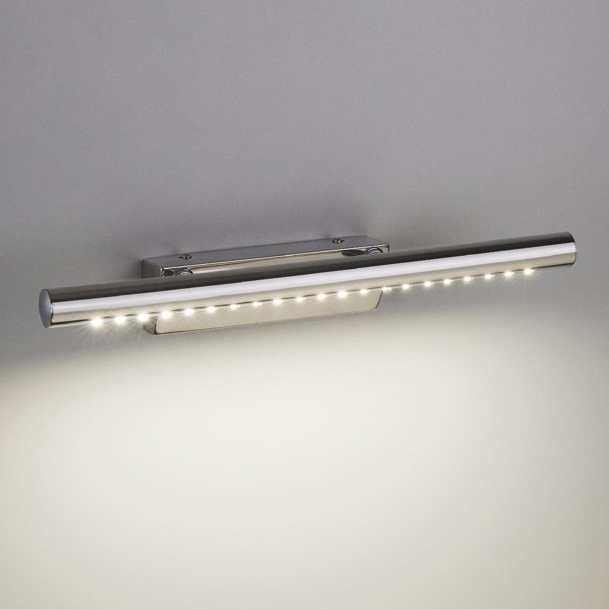 Настенный светодиодный светильник Trinity Neo LED хром без выключателя MRL LED 5W 1001 IP20