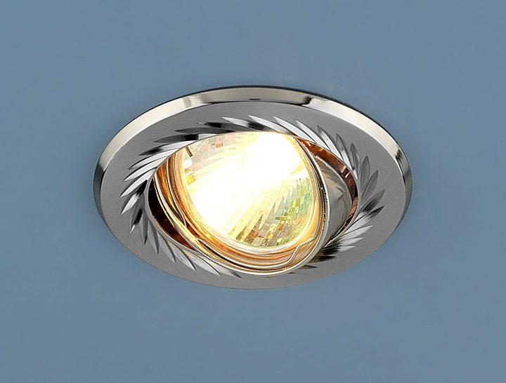 Встраиваемый точечный светильник 704 CX MR16 SN/N сатин-никель/никель