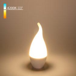 Свеча на ветру LED 6W 4200K E14 BLE1419