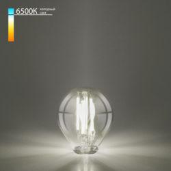 Филаментная светодиодная лампа Mini Classic 6W 6500K E27 (G45 тонированный) BLE2758