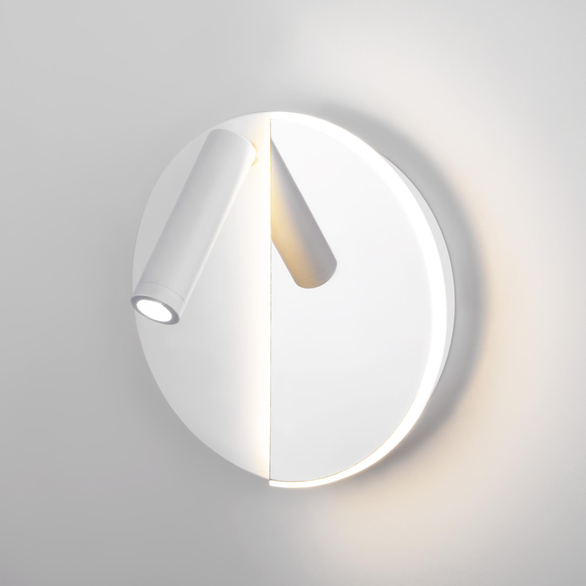 Настенный светодиодный светильник Drom LED 40105/LED белый/хром