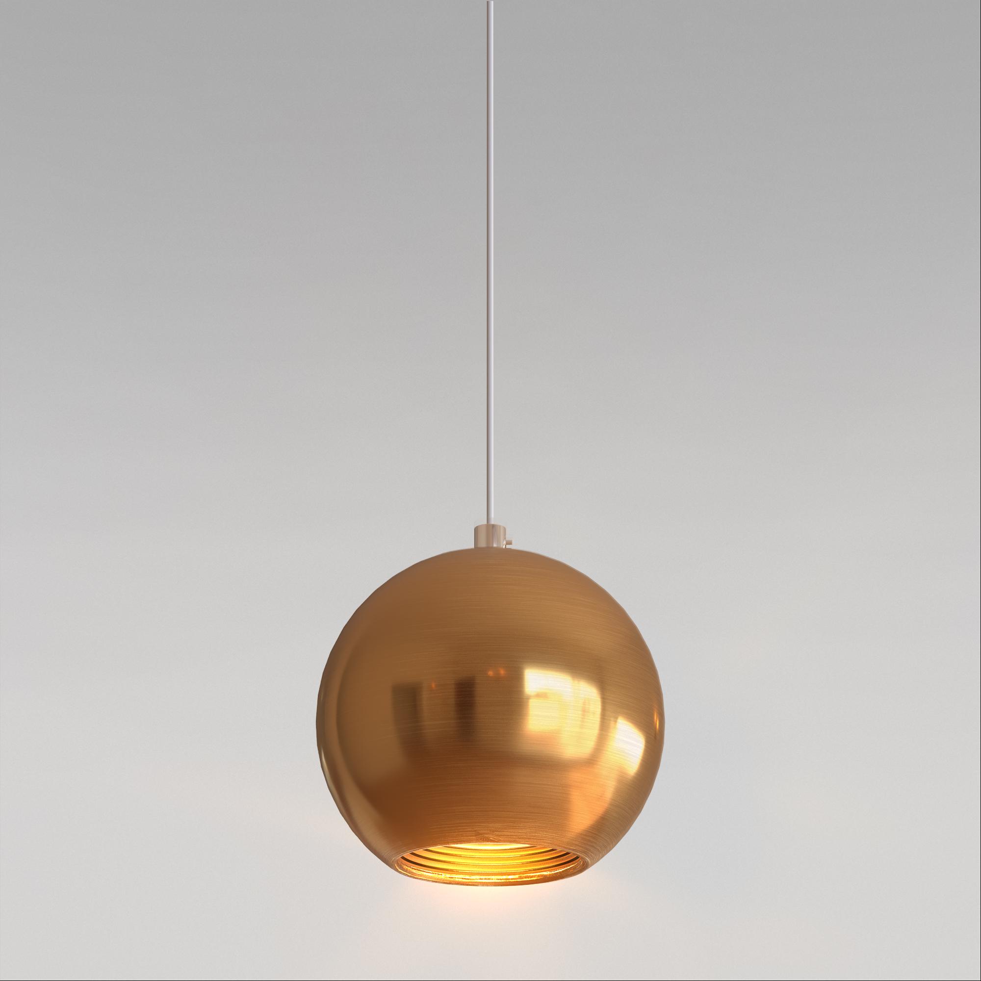 Подвесной светодиодный светильник 50215/1 LED бронза